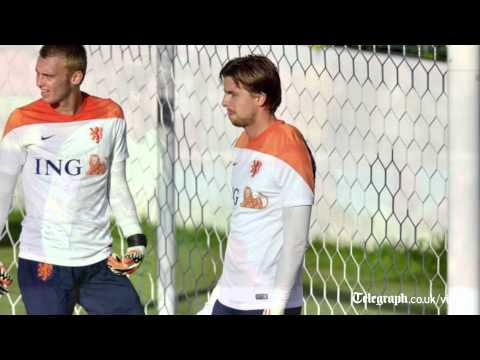 Holland's Tim Krul vows to continue penalty shootout antics
