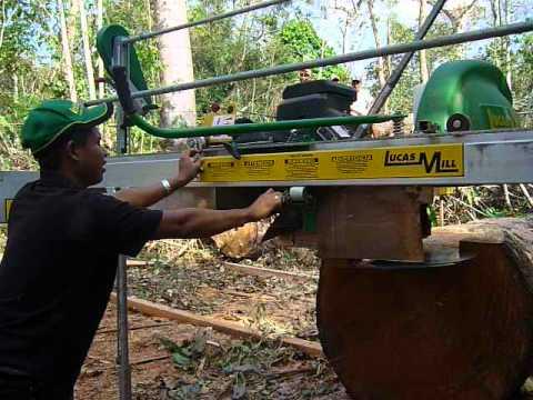 Uso de aserraderos portátiles en el mejoramiento del nivel de vida de indígenas en Darién