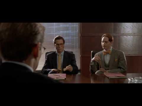 American Psycho scena biglietti da visita.