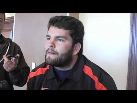 Oklahoma State Football - Media Luncheon - Grant Garner