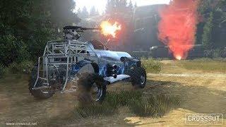 เกมอะไร แต่งรถมายิงกัน! | Crossout (นึกว่า Death Race)