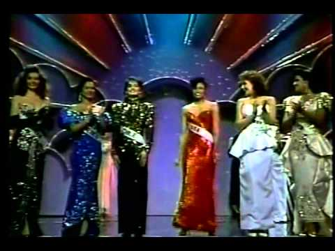 Miss Universe 1990 Top 6 Finalist