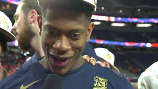 Virginia's De'Andre Hunter: 'All those reps paid off for this big moment'