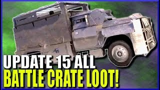 Ghost Recon Wildlands Update 15 ALL BATTLE CRATE LOOT!