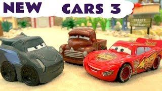 Cars 3 Toys Lightning McQueen Disney Pixar meets Jackson Storm - Mashems for Kids and Children TT4U