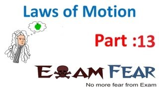 Physics Laws of motion part 13 Static Friction CBSE class 11
