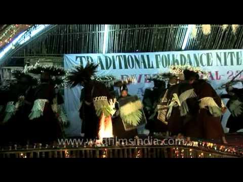 Traditional folk dance night of Siang River Festival, Arunachal Pradesh