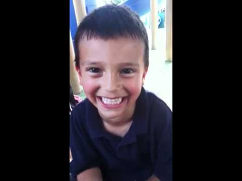 Kid Singing Chicken Wing Song video