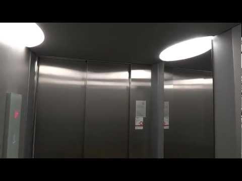 New Schindler 5300 MRL Traction elevator @ Västra Tullgatan 37, Hudiksvall, Sweden.
