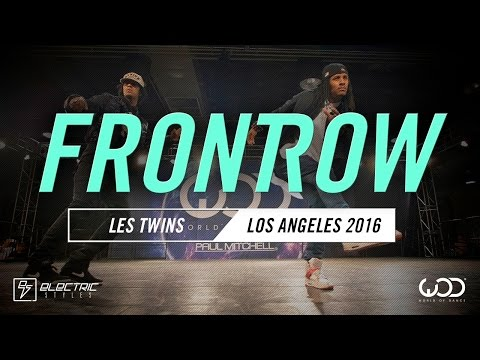 Les Twins   FRONTROW   World of Dance Los Angeles 2016   #WODLA16