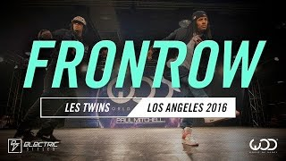 Les Twins | FRONTROW | World of Dance Los Angeles 2016 | #WODLA16