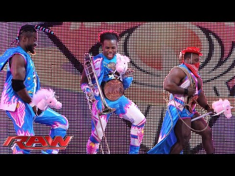 The New Day's First Anniversary In-Ring Country Music Jamboree: Raw, November 23, 2015