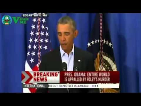 Obama Statement on James Foley  American Journalist  Behead ! FULL VIDEO