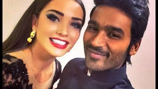 Amy Jackson Praises Dhanush for Helping to Improve Acting