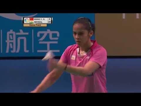 XIAMENAIR Australian Badminton Open 2016 | SF M4-WS | Wang Yihan vs Saina Nehwal