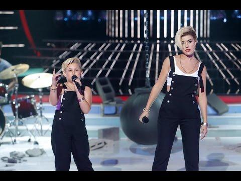 Roko y Carla imitan a Miley Cyrus en Tu cara me suena Mini