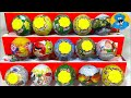 15 Игрушек Сюрпризов,Unboxing Chupa Chups Surprise Angry Birds,Peppa Pig,Смешарики