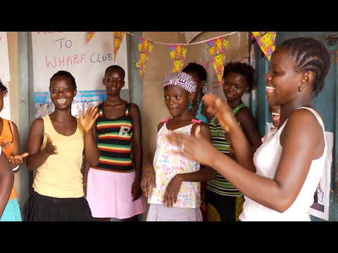At a club for teenage girls in Sierre Leone, 18-year-old Mbalu leads by example