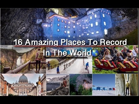 16 Amazing Places To Record In The World🌎