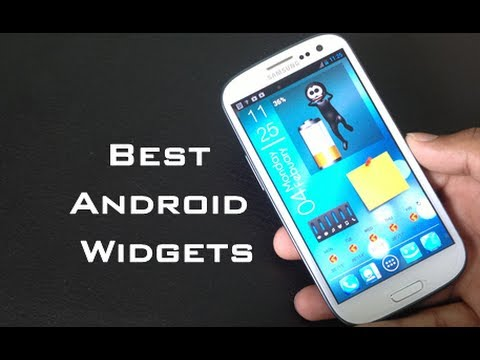 Top 10 Best Android Widgets of 2013 [Galaxy S3]