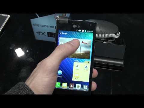 LG Optimus 4X HD hands-on