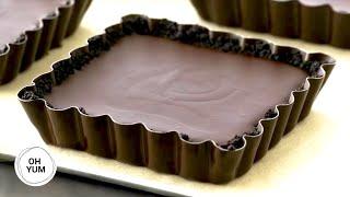How To Make Individual Chocolate Ganache Tarts