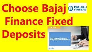 बजाज फाइनेंस फिक्स्ड डिपाजिट रिव्यु  - Bajaj finance fixed deposit review 😎