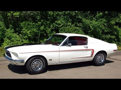 1968 Ford Mustang GT Fastback 428 Cobra Jet