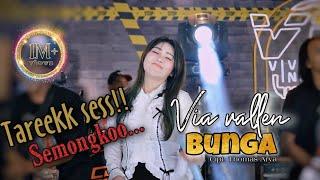 Download lagu Via Vallen - Bunga - Tarek Ses ... Semongko (  MV Viva Music Indonesia )
