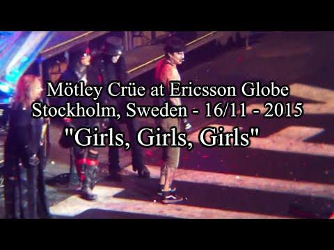"Mötley Crüe at Ericsson Globe - 16/11/15 - ""Girls, Girls, Girls"""