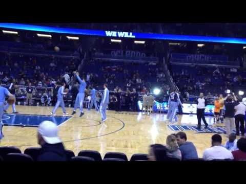 Orlando Magic vs Memphis Grizzlies Pregame 3/3/13