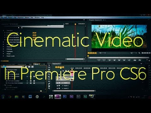 How To Make Video Cinematic!   Adobe Premiere Pro CS6