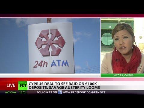 Cyprus bailout to raid large deposits, massive austerity looms
