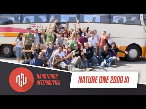 Nature One 2009 video Tag1(Donnerstag) incl Bustour HardTours.de &amp; Feierreisen.de
