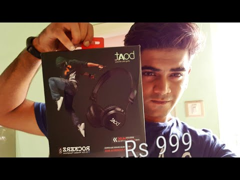 BEST BUDGET BLUETOOTH HEADPHONES?  BOAT ROCKERS 400  - #UNBOXING AND #REVIEW !