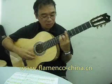 周結文 Peter(第四屆Flamenco吉他音樂藝術演奏証書課程學員) 彈奏曲目: Verdiales