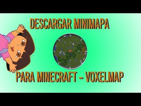 Descargar Minimapa para Minecraft 1.8.1 - VoxelMap / Rei's Minemap - Minecraft Mod Review