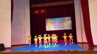 Aerobic Đất Nam - hội thi aerobic mầm non mẫu giáo quận Tân Phú 2019- bé vui khỏe