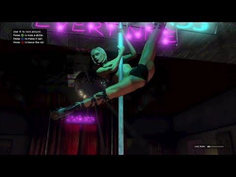 GTA 5 Strip Club Full Dance Scene - YouTube