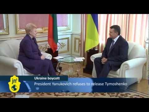 Ukrainian Government Derails Euro 2012: Championship Boycott over Yulia Tymoshenko's Treatment
