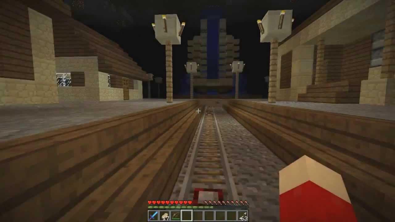 Minecraft Secret Hidden Base