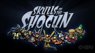 Skulls of the Shogun Release Date Trailer