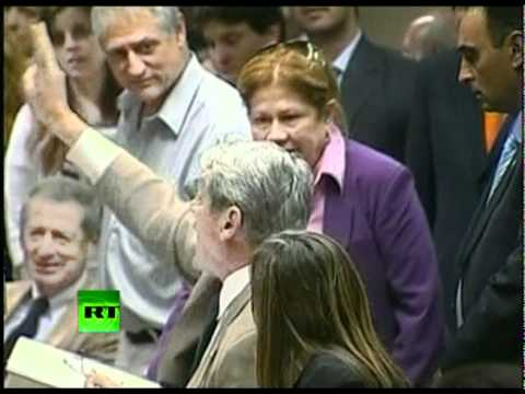 Political Punch: Woman slaps fellow lawmaker over budget in Argentina