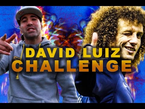 I accept DAVID LUIZ CHALLENGE ! @seanfreestyle