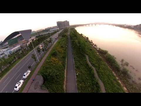 5.7km FPV Flight on OFM Reptile 650 Quadcopter Normal Version