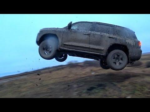 СУРОВЫЙ  ЖЕНСКИЙ Off-road на Toyota LC200 и Fortuner