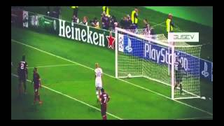 Robert Lewandowski Goal ~ AS Roma vs Bayern Munchen 0:5 UEFA Champions League 2014 21/10/2014