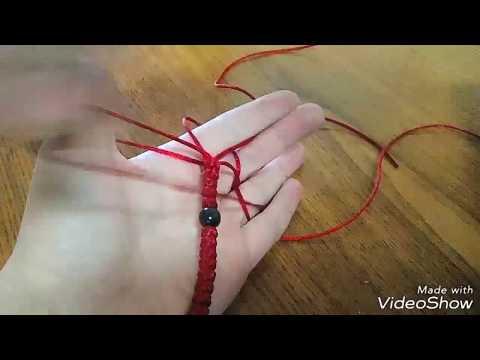 Как сплести чётки своими руками 3