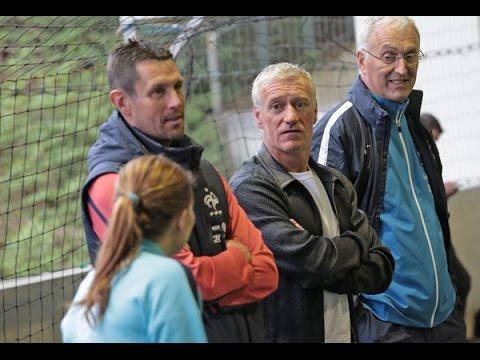 La rencontre de Didier Deschamps avec les Bleues !