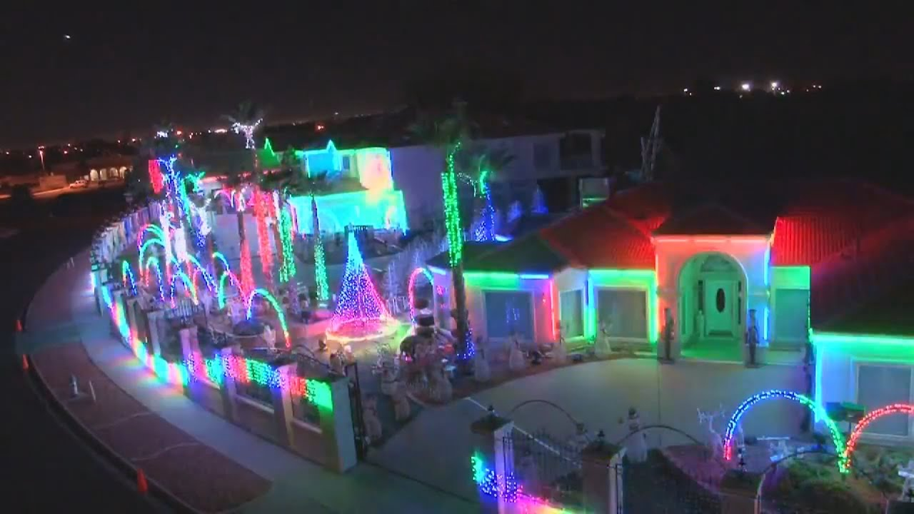 Synchronized Christmas Light Show